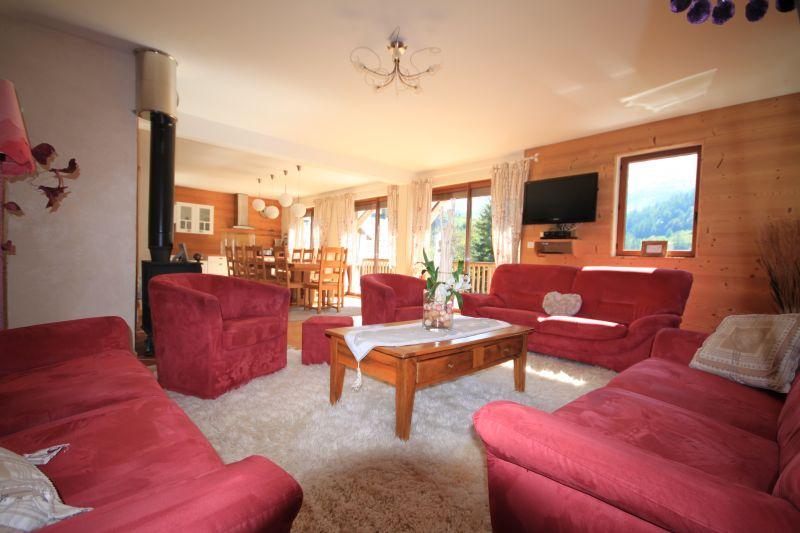 Living room Location Chalet 49295 Valloire