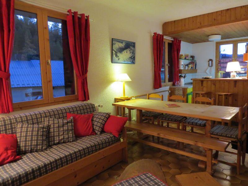 Living room Location Chalet 50191 La Plagne