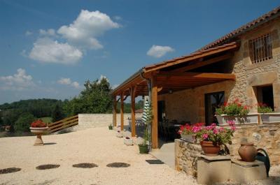 Terrace Location Vacation rental 51192 Villefranche du Périgord