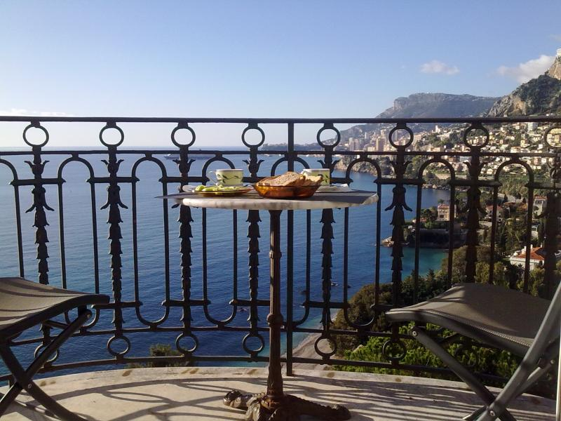 View from the balcony Location Apartment 51355 Roquebrune Cap Martin