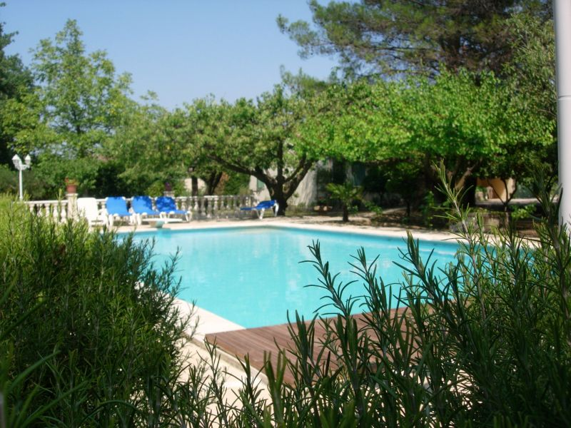View of the property from outside Location Villa 51831 Uzès