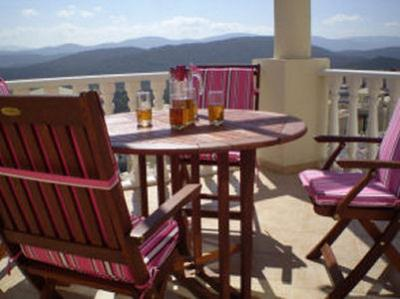 View from the balcony Location Apartment 53014 Bodrum