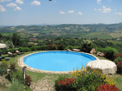Swimming pool Location Villa 53506 Penna San Giovanni