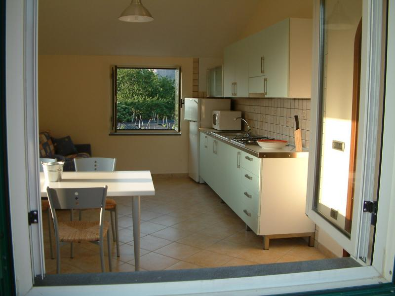 Separate kitchen Location Apartment 53852 Sorrento