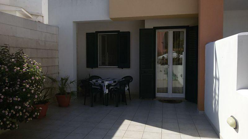 Courtyard Location Apartment 54622 San Foca