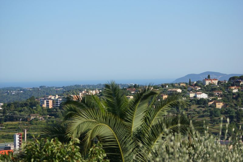 View from the property Location Vacation rental 56131 Grasse