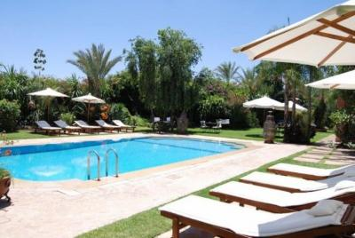 Swimming pool Location Villa 56259 Marrakech
