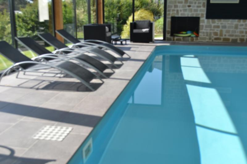 Swimming pool Location Apartment 56276 Sibiril