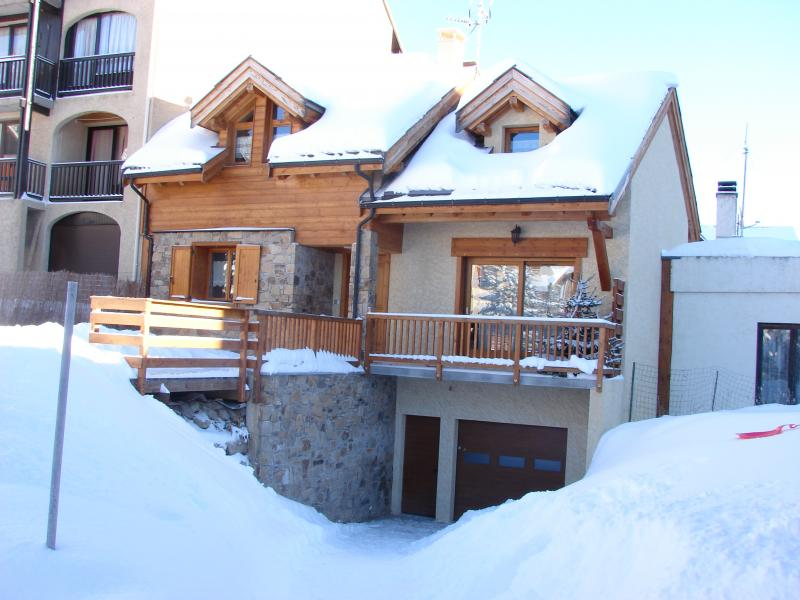 View of the property from outside Location Chalet 57805 Montgenevre