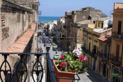 View from the balcony Location Apartment 58104 Castellammare del Golfo