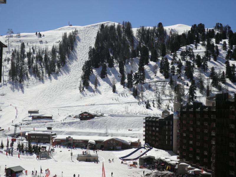 View from the balcony Location Apartment 58207 La Plagne