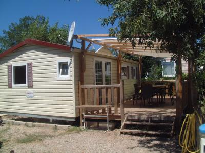 View of the property from outside Location Mobile home 58302 Saint Aygulf