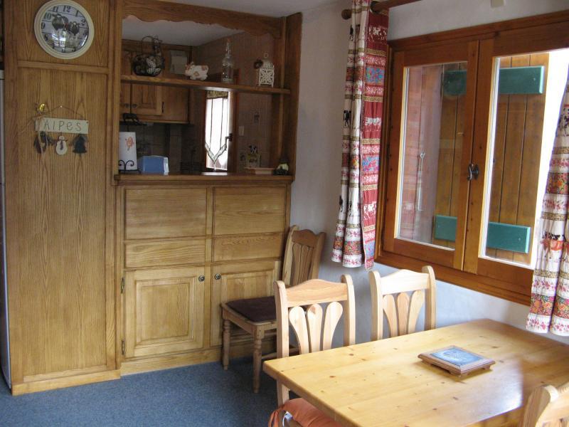 Dining room Location Apartment 58591 Les Contamines Montjoie