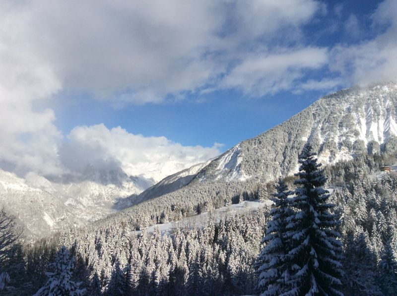 View from the balcony Location Chalet 58837 Courchevel