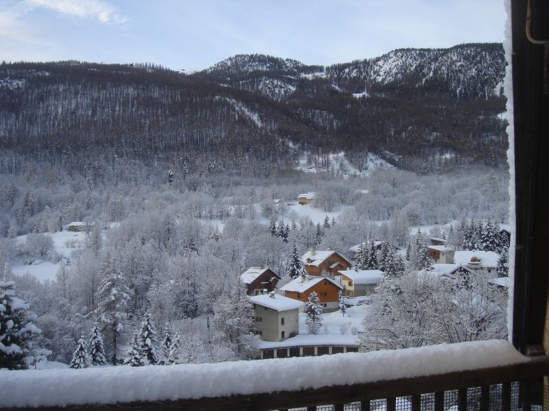 View from the terrace Location Apartment 58839 Serre Chevalier