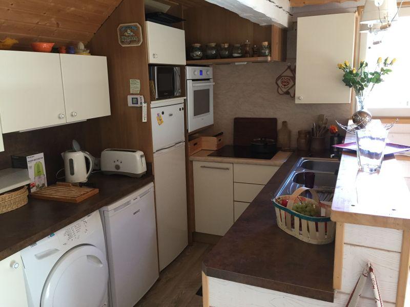 Open-plan kitchen Location Apartment 58839 Serre Chevalier