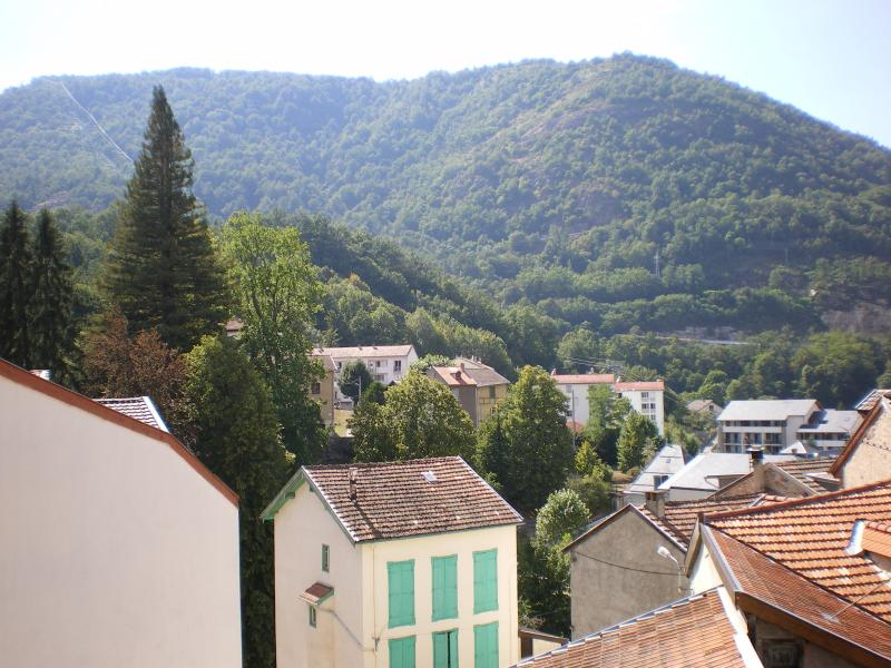 View from the balcony Location Apartment 58968 Ax Les Thermes