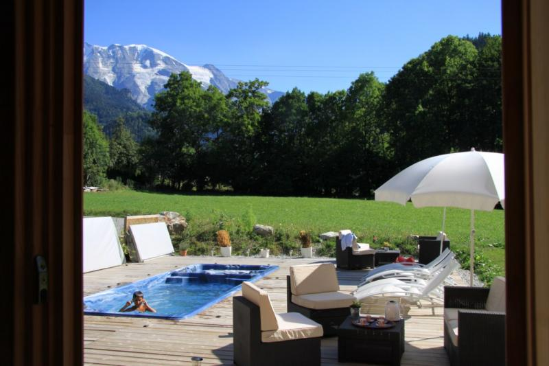 Swimming pool Location Apartment 59034 Saint Gervais Mont-Blanc
