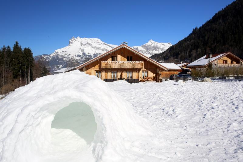 View of the property from outside Location Apartment 59034 Saint Gervais Mont-Blanc