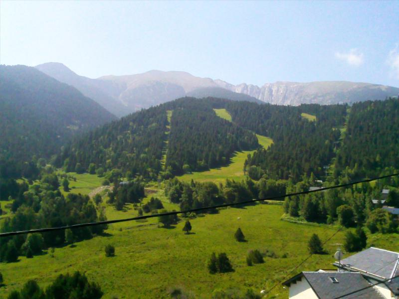 View from the balcony Location Chalet 59119 Saint Pierre - Dels - Forcats - Cambre