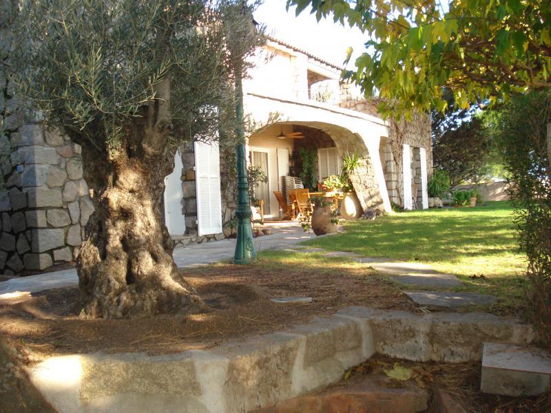 Garden Location Villa 59191 Ste Lucie de Porto Vecchio
