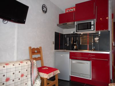 Kitchenette Location One-room apartment 59631 Les Menuires
