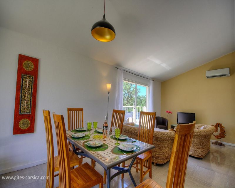 Living room Location Villa 59939 Porto Vecchio