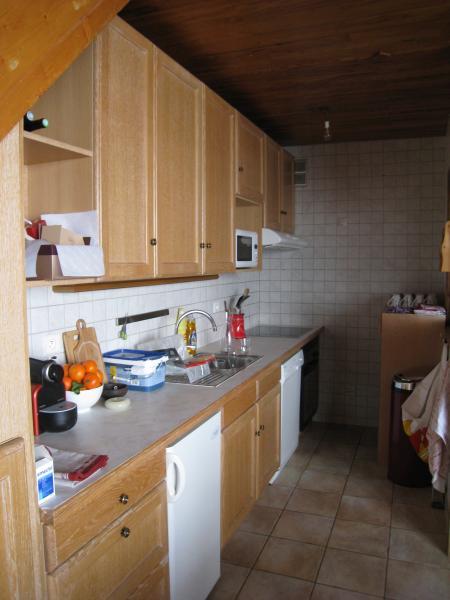 Open-plan kitchen Location Apartment 60012 Tignes