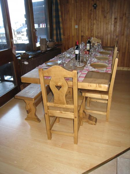 Dining room Location Apartment 60012 Tignes