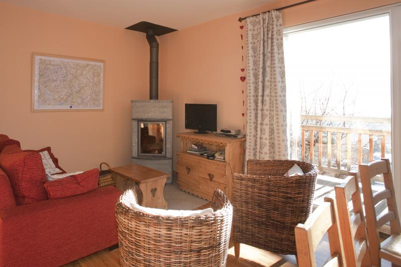Living room Location Apartment 60398 Briançon