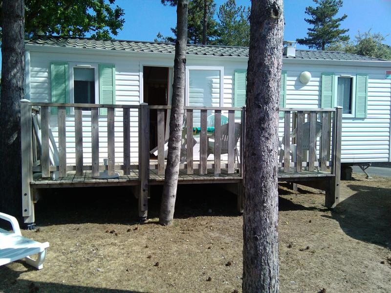 View of the property from outside Location Mobile home 60835 Saint Jean de Monts