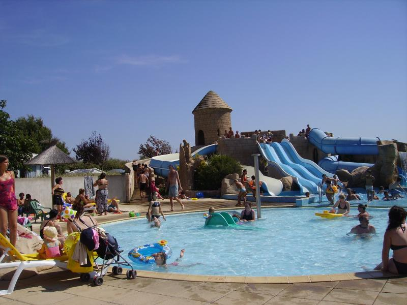 Swimming pool Location Mobile home 60835 Saint Jean de Monts
