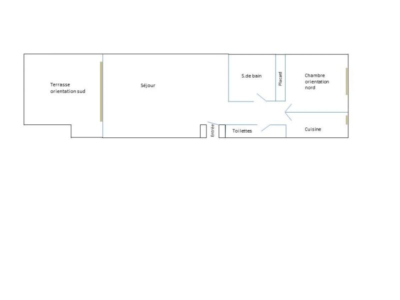 Map of property Location Apartment 61328 Arcachon