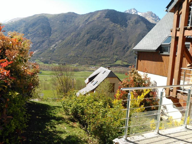 View from the terrace Location Vacation rental 61378 Saint Lary Soulan