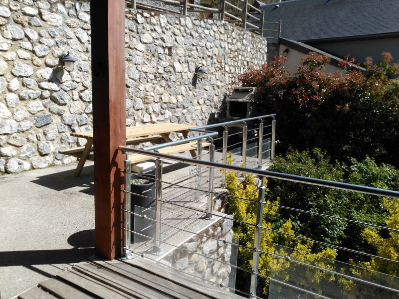 Terrace Location Vacation rental 61378 Saint Lary Soulan