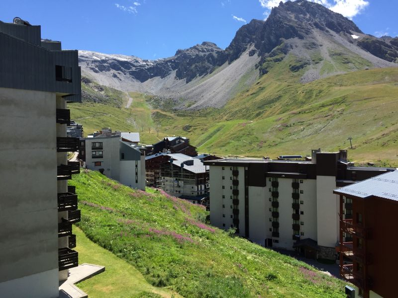 View from the balcony Location One-room apartment 61425 Tignes