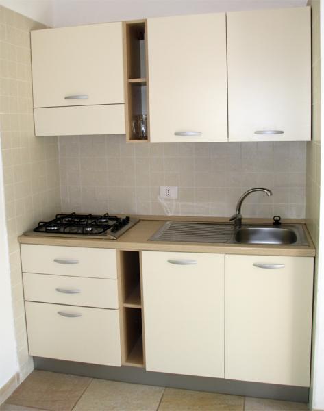 Kitchenette Location Apartment 62381 Vieste
