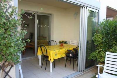 Porch Location Apartment 6243 Cap d'Agde