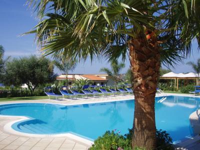 Swimming pool Location Apartment 62516 Tropea
