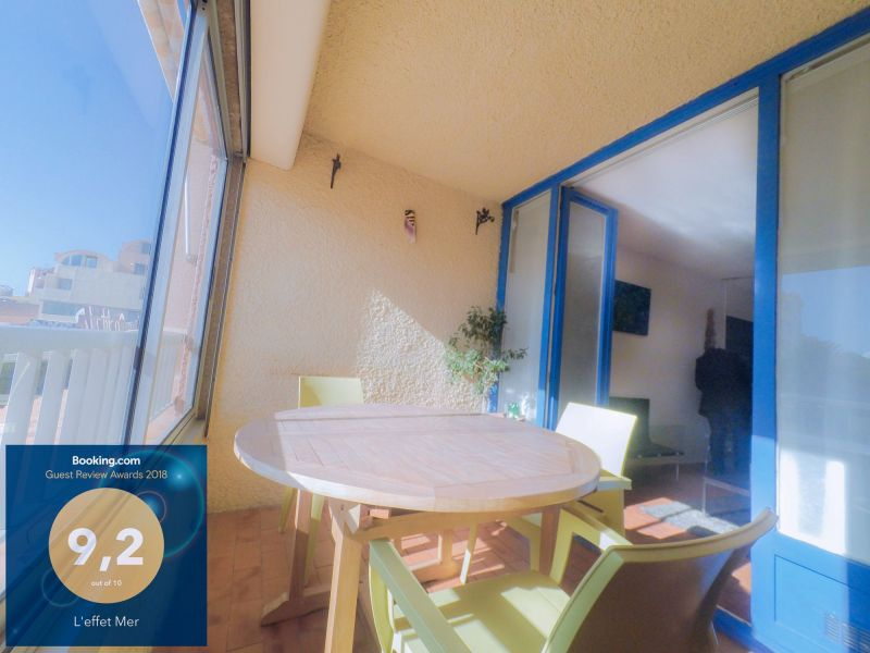 Covered balcony Location Apartment 6261 Gruissan