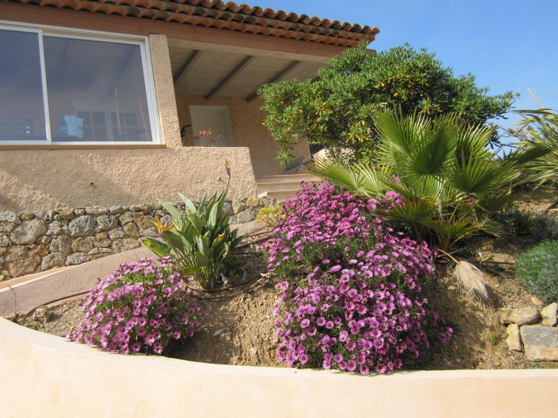 View of the property from outside Location Villa 62665 Saint Raphael
