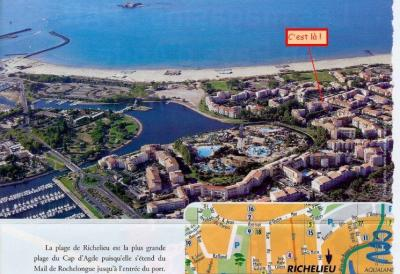 View of the property from outside Location Apartment 62881 Cap d'Agde