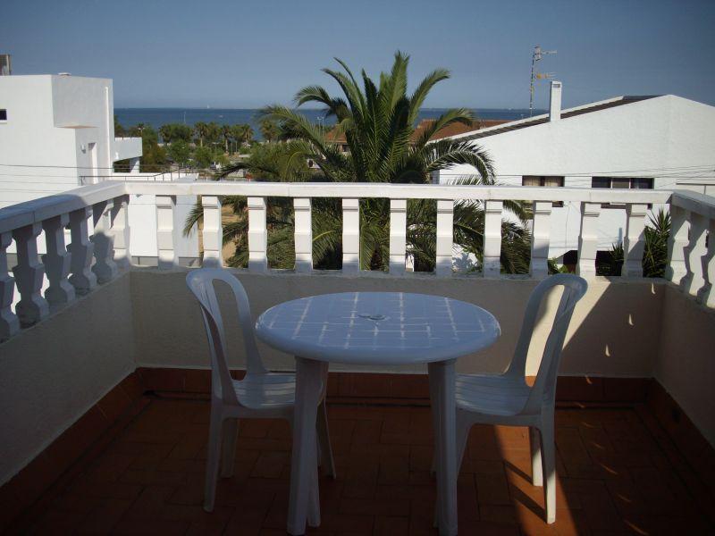 View from the balcony Location Villa 63018 L'ampolla