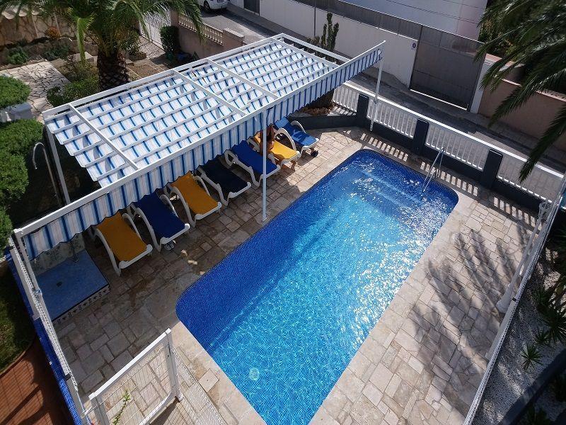 Swimming pool Location Villa 63018 L'ampolla
