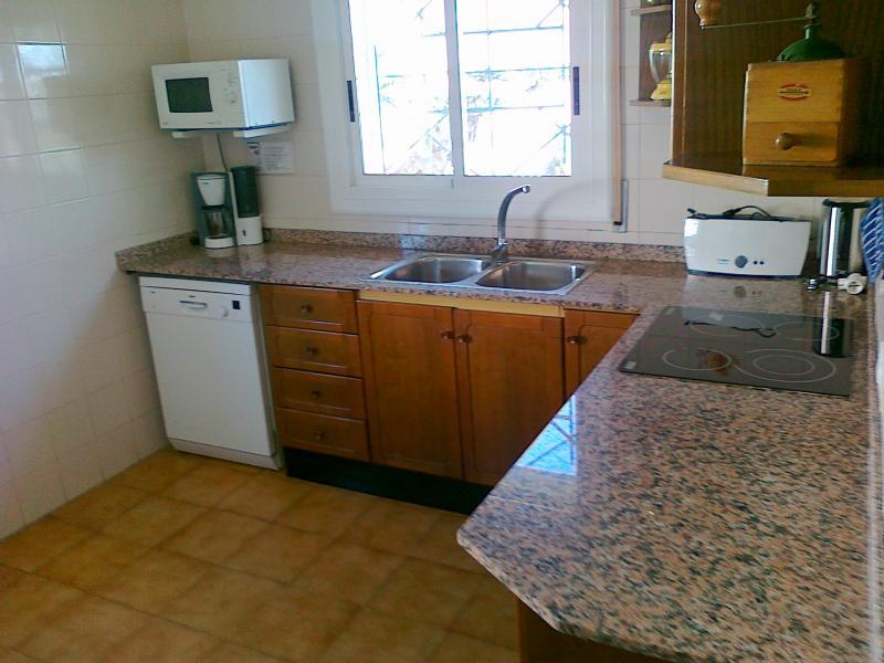 Summer kitchen Location Villa 63018 L'ampolla