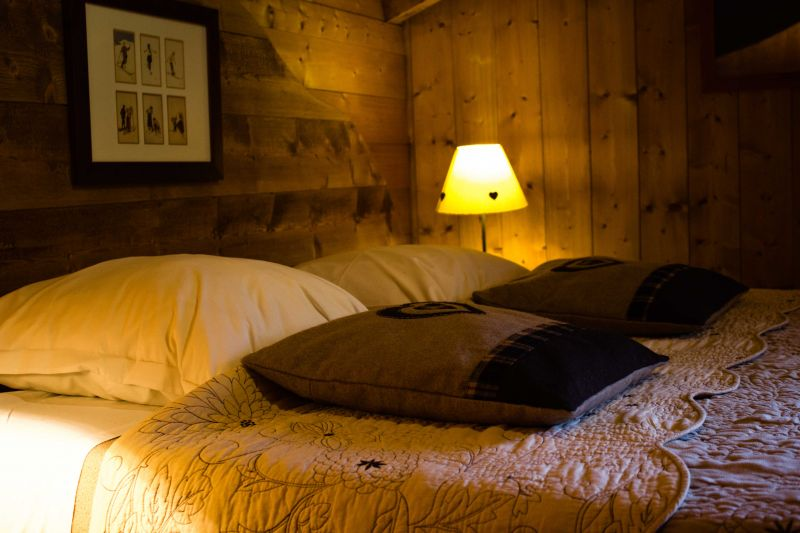 bedroom 1 Location Chalet 651 Chamonix Mont-Blanc