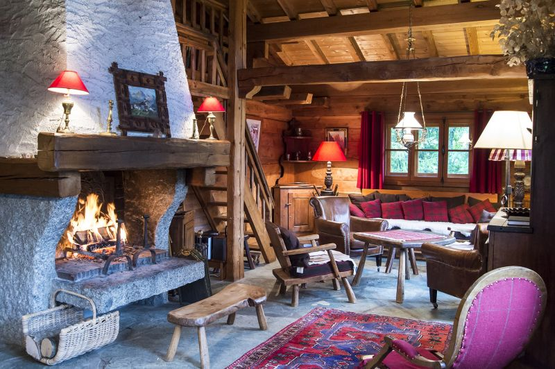 Living room Location Chalet 706 Chamonix Mont-Blanc