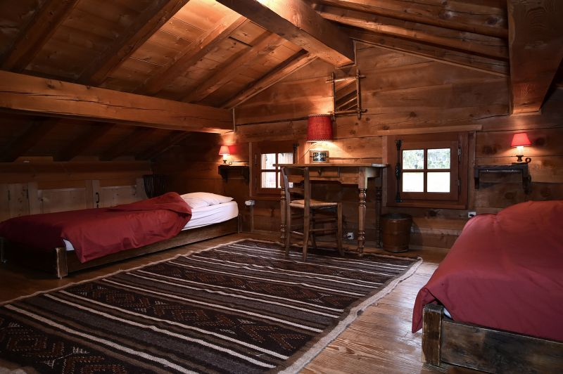 bedroom 3 Location Chalet 706 Chamonix Mont-Blanc
