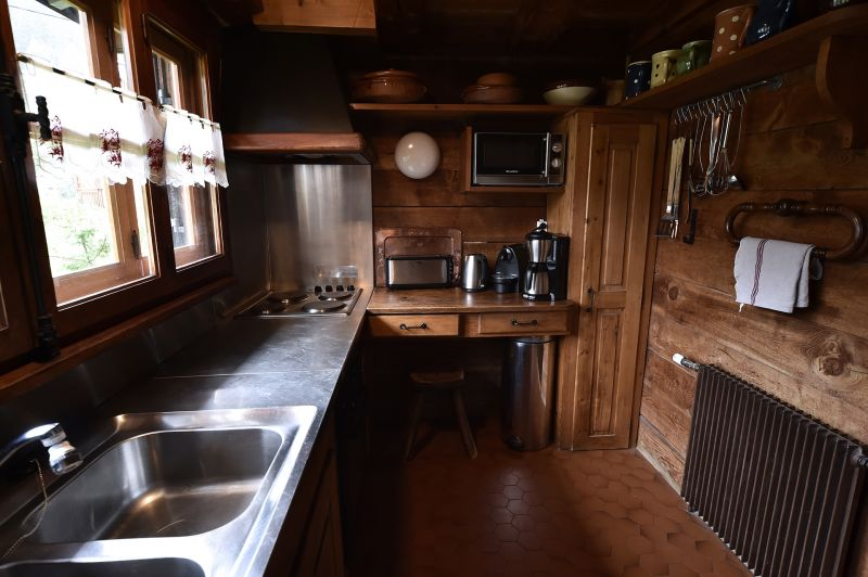 Separate kitchen Location Chalet 706 Chamonix Mont-Blanc