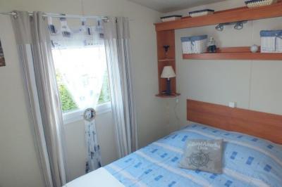bedroom 1 Location Mobile home 7575 Saint Malo
